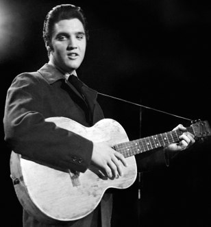 Image: Elvis in the 1950s