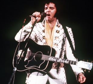 Image: Elvis in 1973