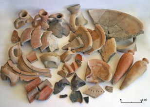 Image: pottery shards