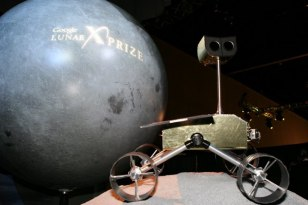 Image: Rover at X Prize announcement