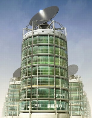 Image: Vertical-farming tower