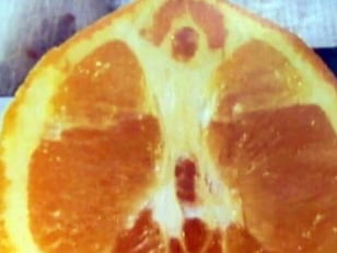 Image: Jesus in orange
