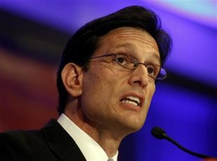 Image: House Majority Leader Eric Cantor