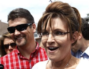 Image: Former Governor of Alaska Sarah Palin and her husband Todd.