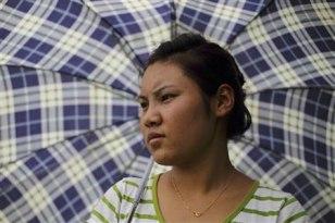 Image: Stateless woman, Nina Tamang, 18