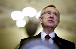 Image: Senate Majority Leader Reid