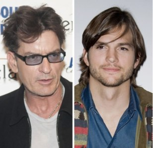 Image: Charlie Sheen, Ashton Kutcher