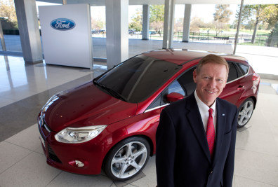 Image: Ford Motor Co. Chief Executive Officer Alan Mulally