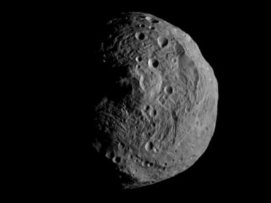 Image: 9,500 miles from Vesta