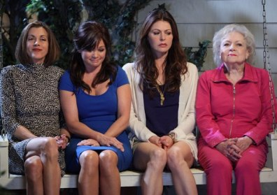 "Image: Cast of ""Hot in Cleveland"""