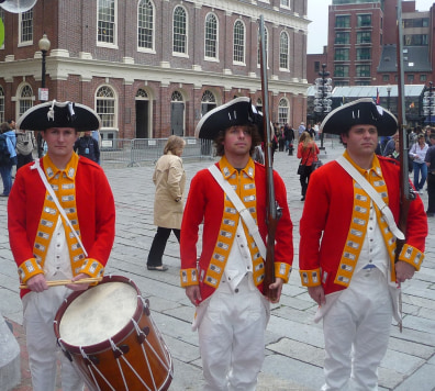 Image: Freedom Trail players