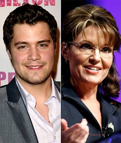 Image: Levi Johnston, Sarah palin