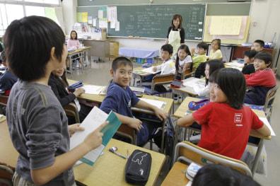 Image: Kazuyo Arai and her class