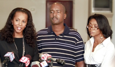 Image: James Willie Jones, Natalie Jackson, Deborah McFadden-Jones