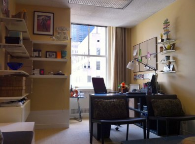 Image: After the makeover, Jenna's office take on a whole new look