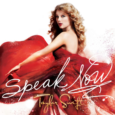 "Image: Taylor Swift album ""Speak Now"""