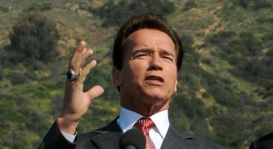Image: California Governor Arnold Schwarzenegger