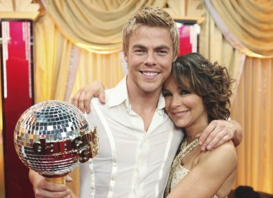 Image: Derek Hough, Jennifer Grey
