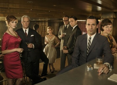 "Image: ""Mad Men"" cast"