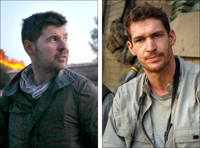 Image: Getty Images photographer Chris Hondros and photojournalist Tim Hetherington