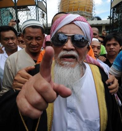 Image: Philippine Muslim cleric Jamil Yahya