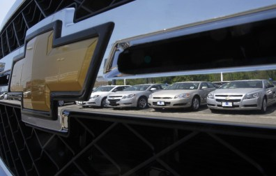 Image: Chevy sedans