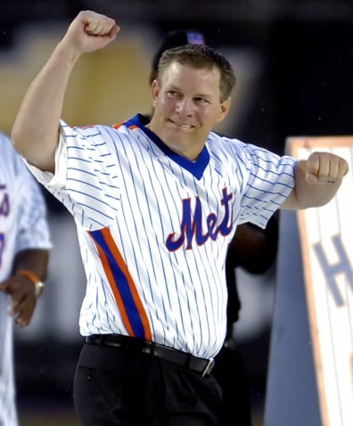 Image: Former New York Mets star Lenny Dykstra