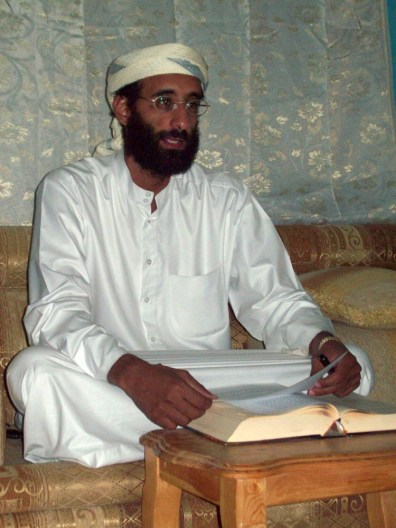 Image: Imam Anwar al-Awlaki in Yemen in October 2008.