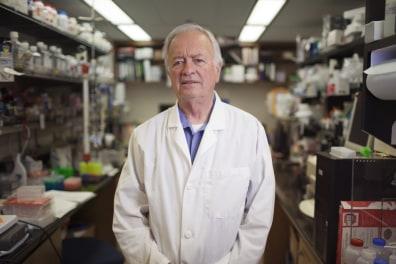 Image: Professor Clement Furlong atthe University of Washington in Seattle.