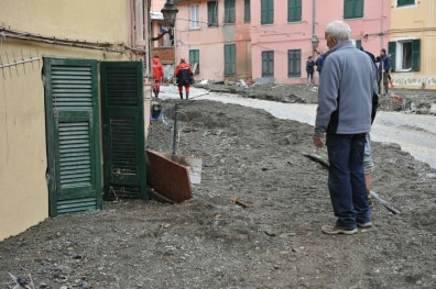 Image: Mudslides and flash floods in Italy
