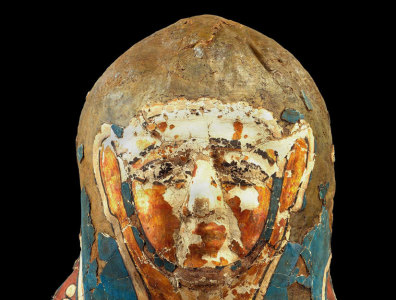 Image: Mummy that showed lesions
