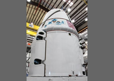 Image: Dragon spacecraft