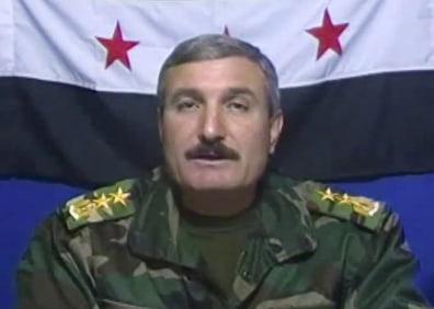 Image: Syrian Free Army commander Riad al-Asaad