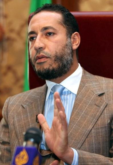 Image: Al-Saadi Gadhafi, son of ousted Libyan leader Moammar Gadhafi