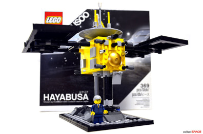 Image: LEGO 369-piece Hayabusa asteroid spacecraft