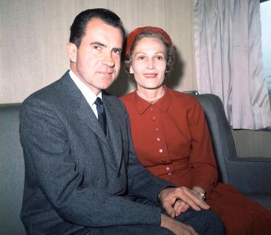Image: Richard Nixon, Pat Nixon