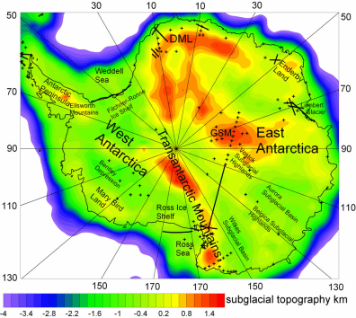 Image: Map of Antarctica