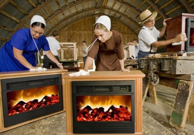Brilliant Consumerman Faux Fireplace Ads Just Hot Air Business Interior Design Ideas Gentotryabchikinfo
