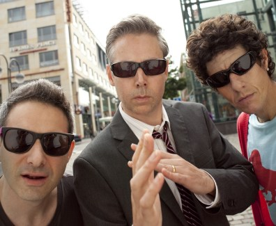 "IMAGE: Adam ""Ad-Rock"" Horovitz, Adam ""MCA"" Yauch, and Michael ""Mike D"" Diamond"