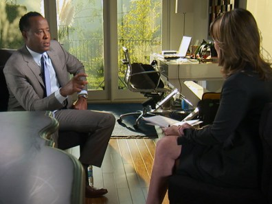 Image: Savannah Guthrie and Conrad Murray