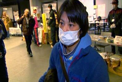 Image: Junko Ooigawa in the Saitama Sports Arena, Japan