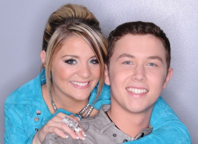 Image: Lauren Alaina, Scotty McCreery
