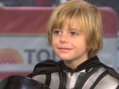 Image: little Darth Vader, Max Bloom