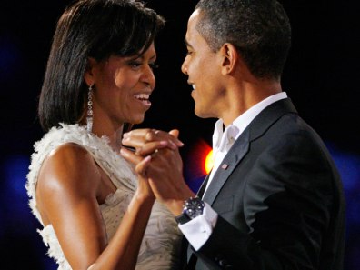Image: Obamas at the Neighborhood Inaugural Ball
