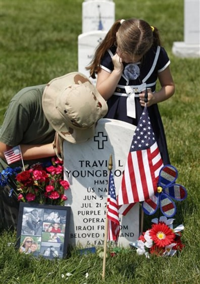 Image: Memorial Day at Arlington National Cemetery