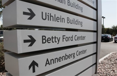 Image: Betty Ford Center