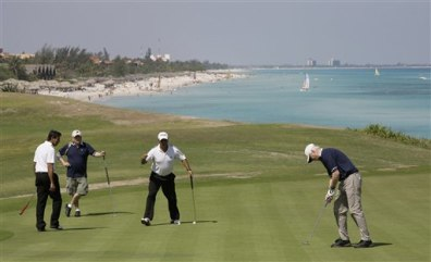 Image: Cuban golf course