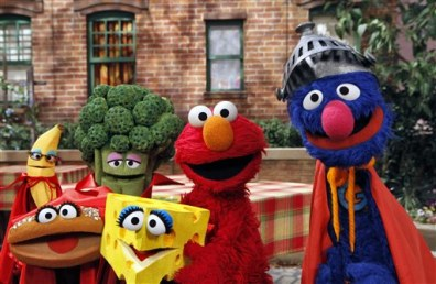 "Image: ""Sesame Street"" characters"