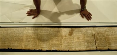 2,000-year-old Dead Sea Scrolls go online