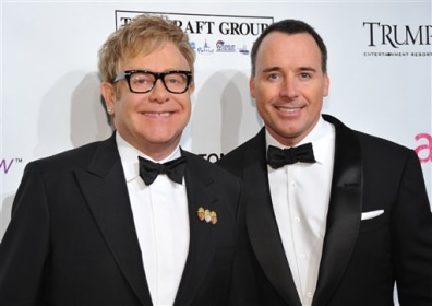 Image: Elton John, David Furnish